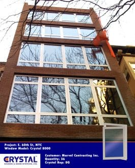 Crystal Series 8000 Heavy Commercial / Architectural Aluminum Thermal-Break Casement Windows