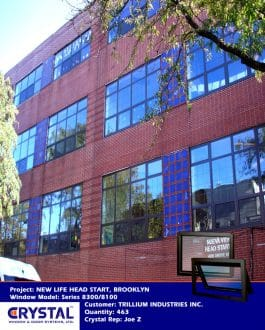 Series 8300 Heavy Commercial / Architectural Aluminum Thermal-Break Project In Windows