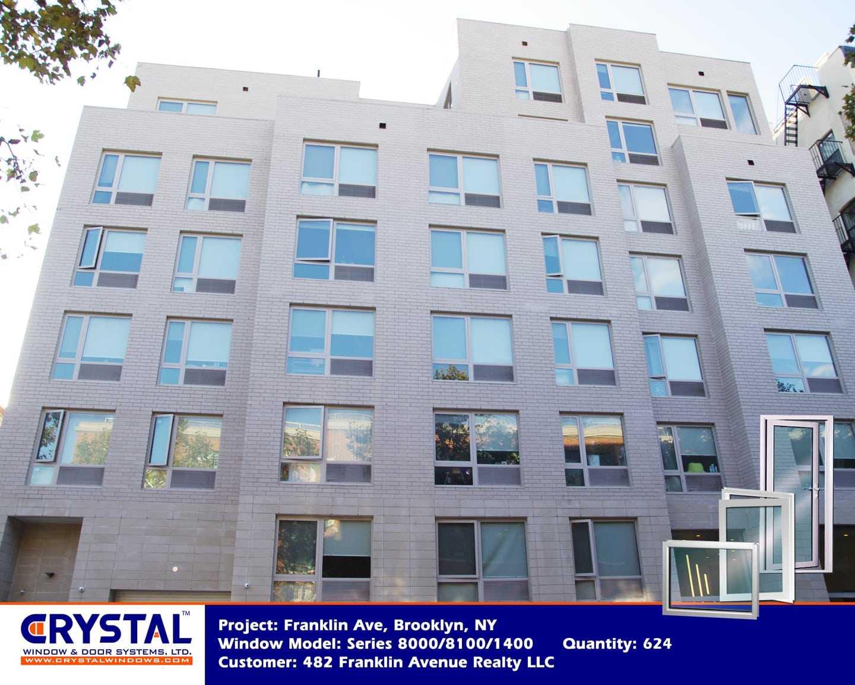 482 Franklin Ave Brooklyn Ny Aluminum Commercial Windows