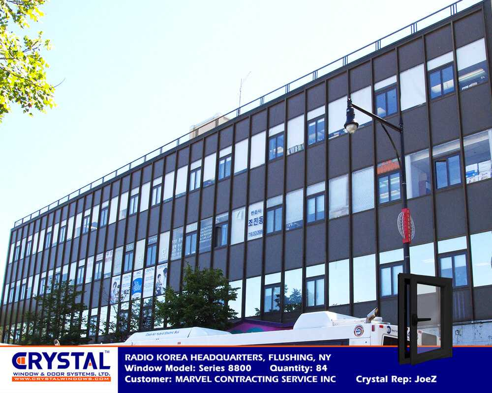Series 8800 Heavy Commercial Architectural Aluminum