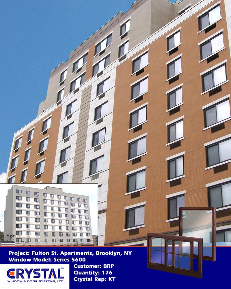 Heavy Commercial Architectural Aluminum Sliding Windows