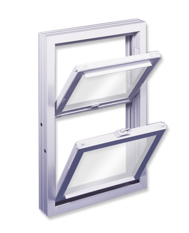 Series 500 Vinyl Fully Welded Replacement Double Hung Tilt Windows