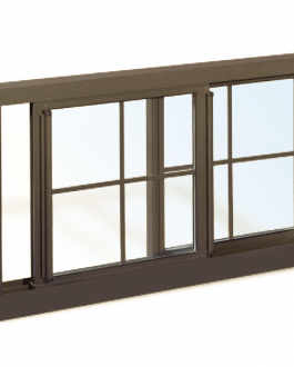 Series 5600 Heavy Commercial / Architectural Aluminum Thermal Break Sliding  Windows