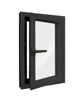 Series 8800 Heavy Commercial / Architectural Aluminum Thermal-Break Evolution In-Swing Windows