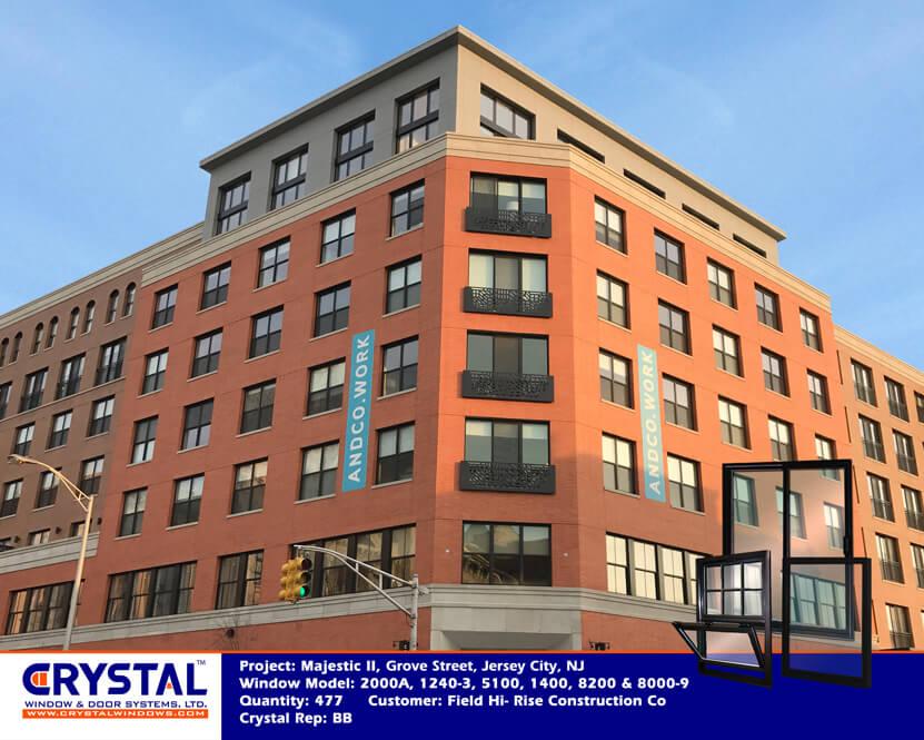 Grove Street, Jersey City, NJ copy - Crystal windows commercial