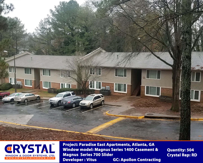 The Paradise East Job Atlanta Ga Copy Crystal Windows