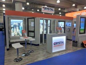 Creative Booth Exhibition : Crystal windows trade show exhibit wins top honors crystal windows